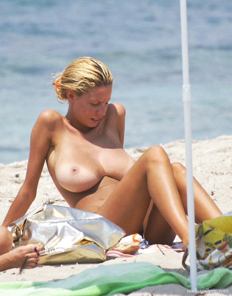 Large breasted nude beach girls