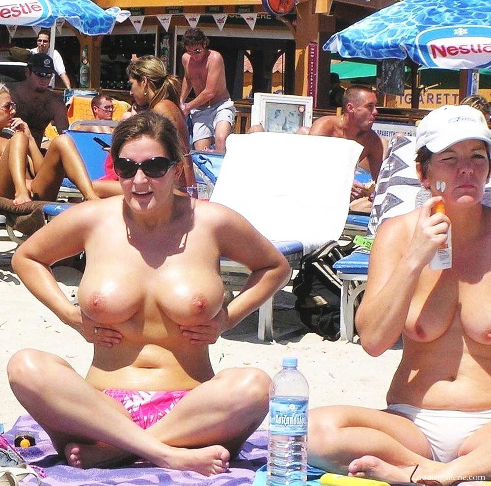 Large breasted nude beach girls amusing