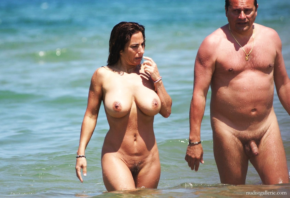 Busty wife topless beach necessary