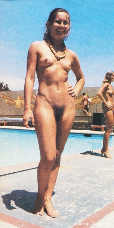 Nudist camp beauty contests