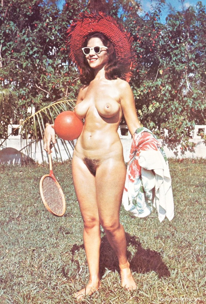 Hairy nudists retro