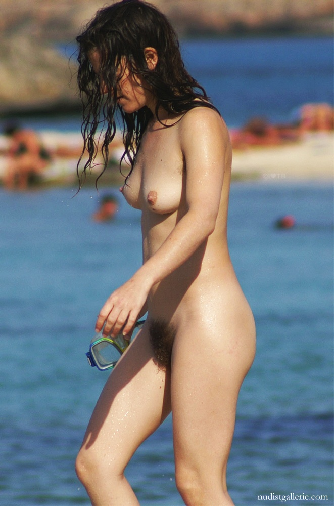 nude hairy women at the beach   nudism photo and video gallery