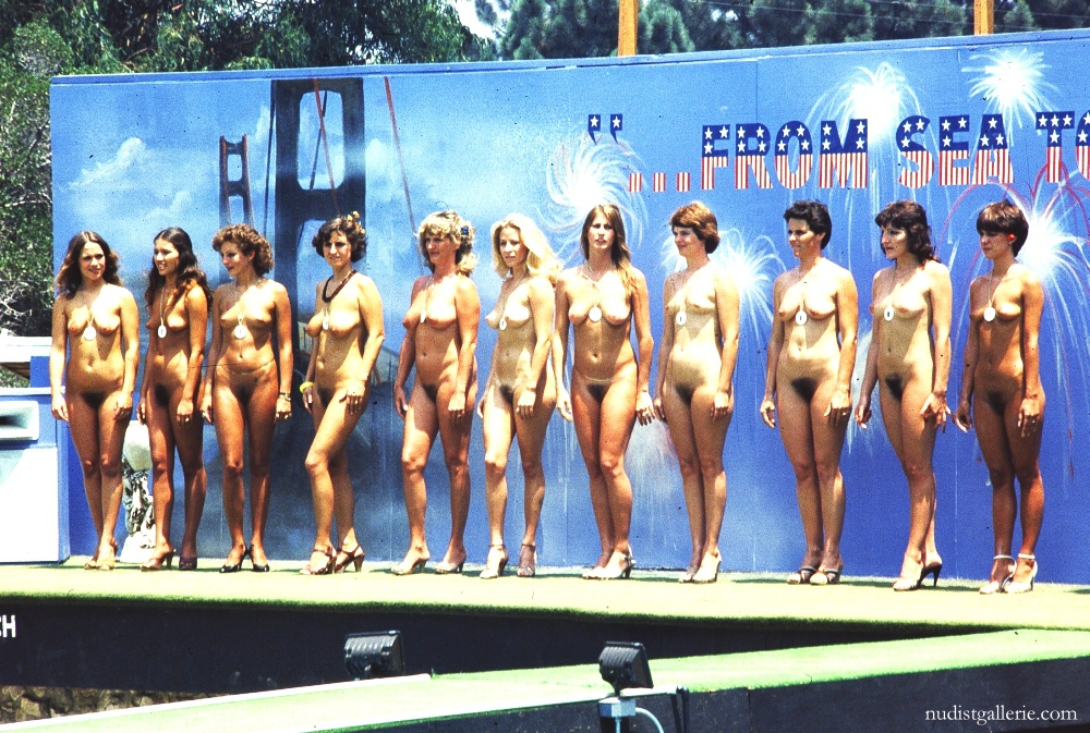 Vintage family nudist camps