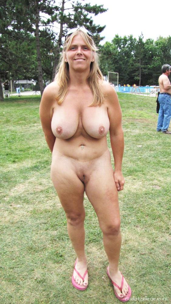 Nudist photo wife