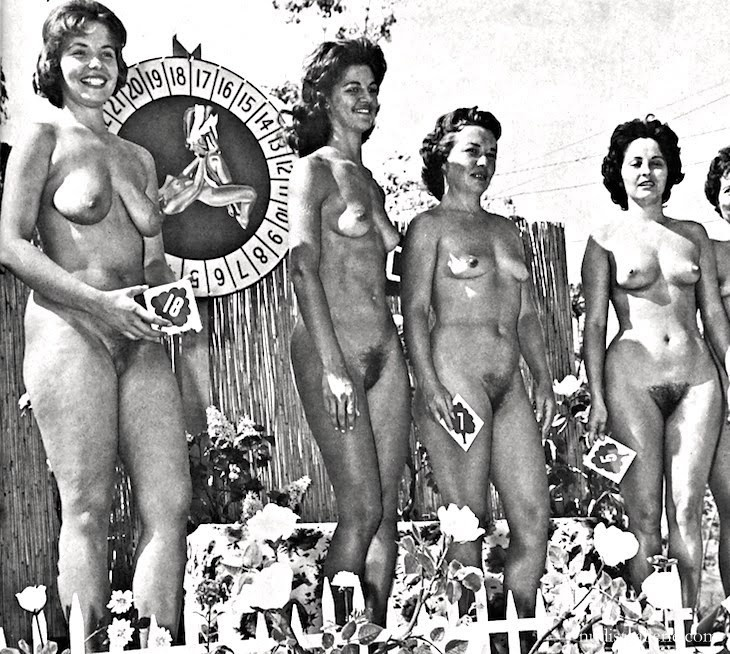 girls Retro junior nudist