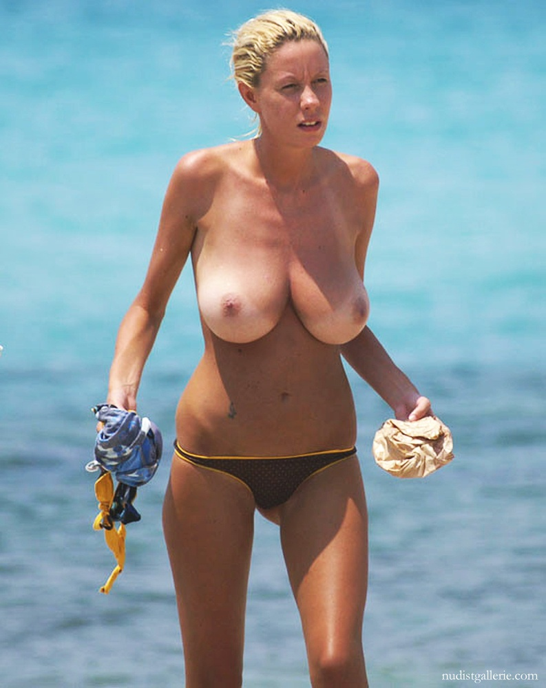 Are not big beach tits agree with